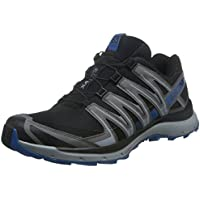Salomon Men's XA Lite Trail Running Shoes, Black (Black/Quiet Shade/Imperial Blue)
