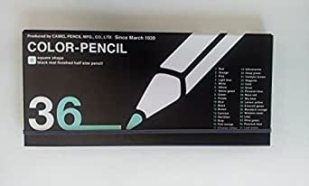 CAMEL 色鉛筆 36色 ハーフサイズ COL36HS ( 文房具 色鉛筆 36色 )