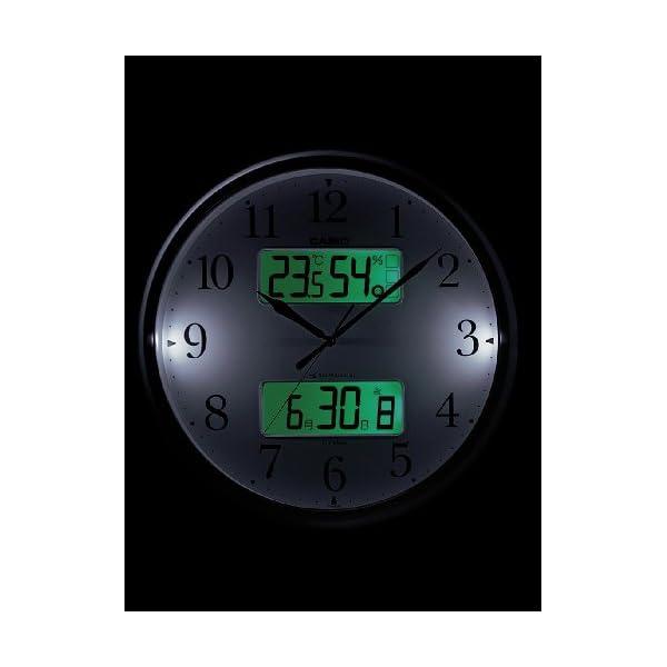 カシオ 温度・湿度計、夜見えライト付き生活環境...の紹介画像2