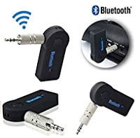 Bluetooth 音楽レシーバー ブルートゥース 3.5mmステレオミニジャックでヘッドフォンやカーステレオAUXに接続