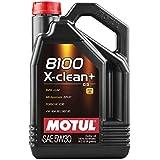 MOTUL(モチュール) 8100 X-clean+ 5W30 5L 100%化学合成オイル [正規品] 11113941