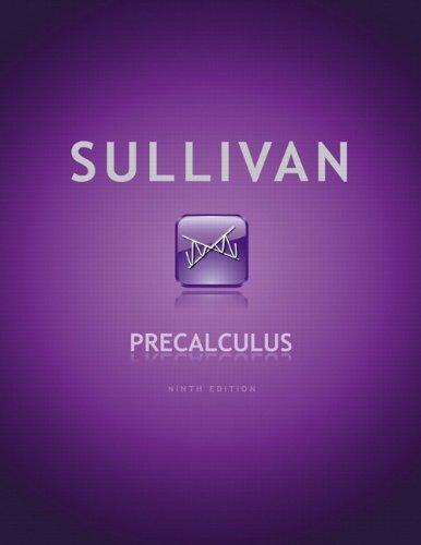 Download Precalculus 0321716833
