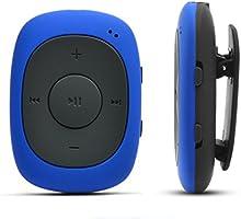AGPtEK G02 クリップ式 8GB MP3プレーヤー 小型超軽量 FMラジオ機能搭載 MP3/WMA/WAVフォーマットに対応 イヤホン付属 (ディープブルー)