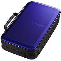 サンワサプライ ブルーレイディスク対応セミハードケース 104枚収納 ブルー FCD-WLBD104BL