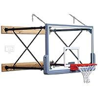 four-point壁マウントバスケットボールシステムwith 42