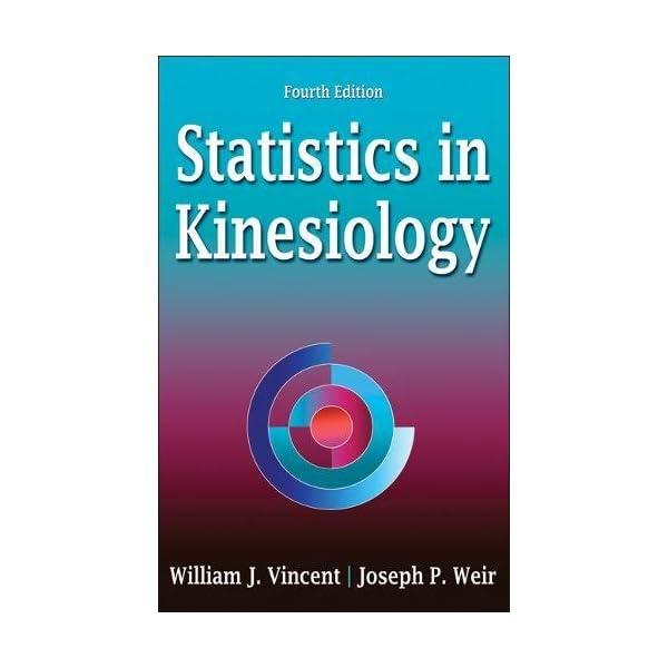 Statistics in Kinesiologyの商品画像