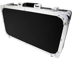 KC エフェクターケース EC-50/BK ブラック (内寸 425 x 220 x 55+20mm)