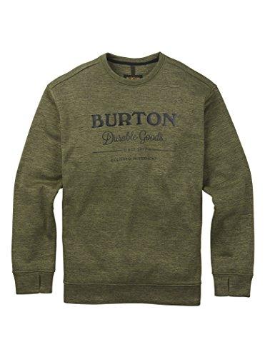 [해외]Burton (버튼) 크루 넥 니트 남성 스웨터 양털 OAK CREW/Burton (Burton) Crew Neck Cut and Sewn Mens Sweat Fleece OAK CREW