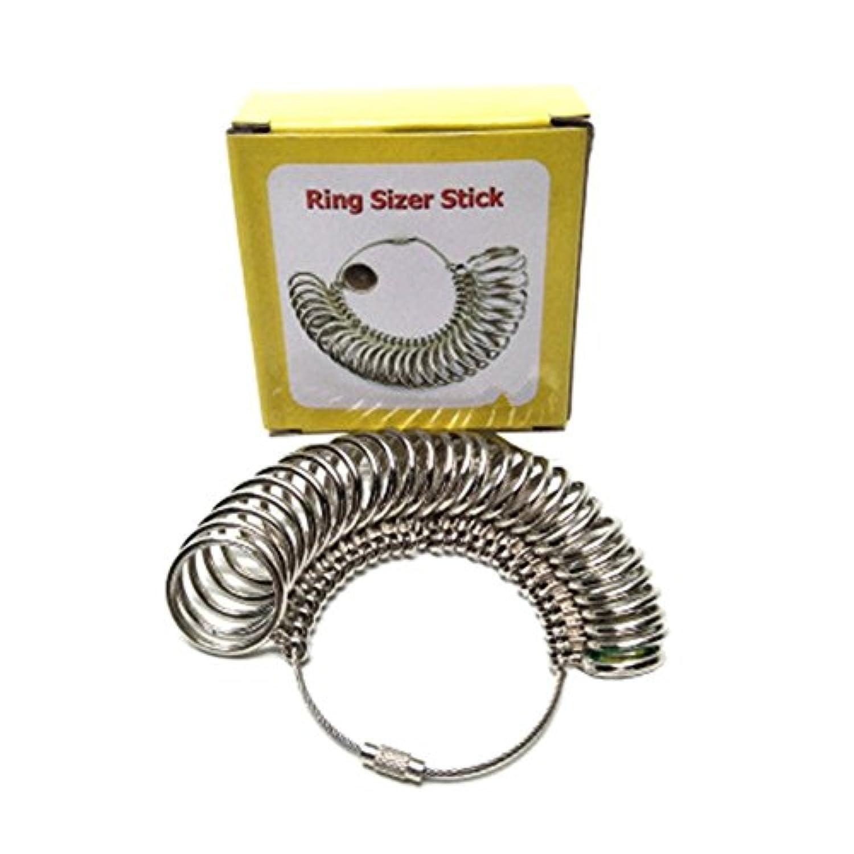 Benhonesh 指輪ゲージ リングゲージ 1号から33号まで 婚約 指輪 サイズ測定 指のサイズがこれ1個で測定可能 プロ仕様 サイズゲージ 指輪 サイズ 測定