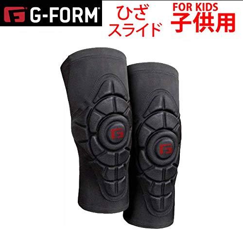 Amazon | G-FORM プロテクター キッズ 膝 子供用 G-FORM PRO YOUTH SLIDE スライド ニーパッド ブラック YKP0402019 ジーフォーム PROTECTOR プロテクター ジュニア キッズ SM | G-FORM | プロテクター