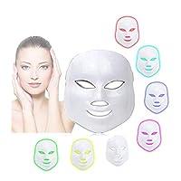 3d 7色ledマスク楽器冷光電子マスク楽器プロフェッショナル美容若返り楽器療法フェイシャルスキンケアマスクデバイス