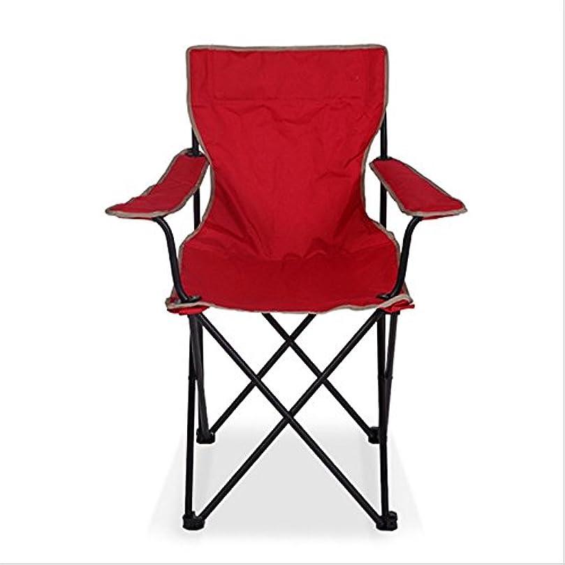 ノート代表グリップ屋外のキャンプや釣り、折りたたみ式デザインに適した折りたたみ式と携帯用の鉄の椅子 アウトドア キャンプ用