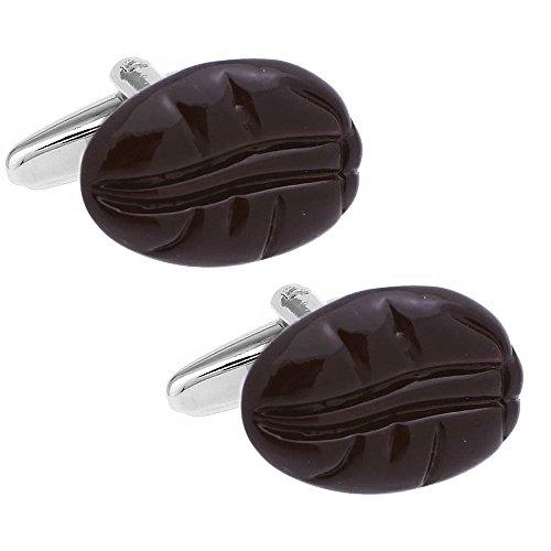 コーヒー豆 カフス カフスリンク カフスボタン n01952...