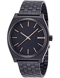 [ニクソン]NIXON TIME TELLER: ALL BLACK/ROSE GOLD NA045957-00 メンズ 【正規輸入品】
