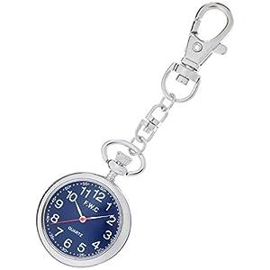 [フィールドワーク]Fieldwork 懐中時計 キーチェーンウォッチ アナログ表示 ネイビーブルー DT111-3