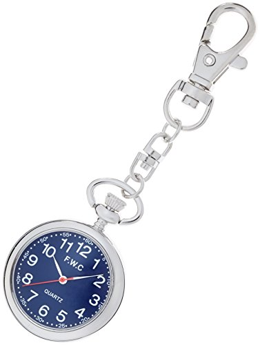 [해외][현장] Fieldwork 회중 시계 키 체인 시계 아날로그 표시 네이비 블루 DT111-3/[Field Work] Fieldwork Pocket Watch Key Chain Watch Analog Display Navy Blue DT111-3