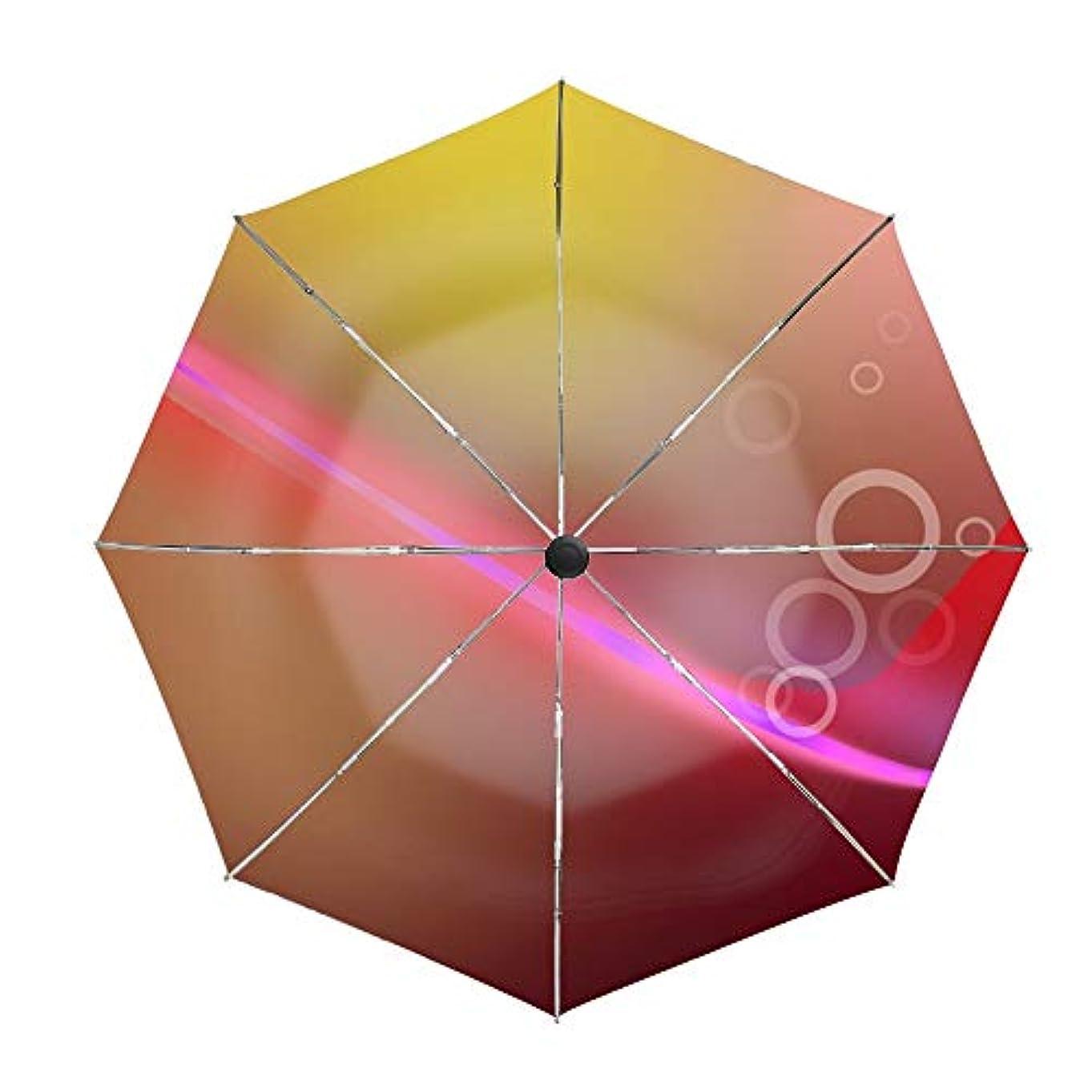 沿ってにはまって世界の窓折り畳み傘 ワンタッチ自動開閉 日傘 晴雨兼用 軽量 紫外線遮断率99%以上日差しに超強いアナログ 傘強度アップ8本骨ガラス繊維 可愛いハンドル 耐風撥水 可愛い傘袋付きデジタル抽象的な背景