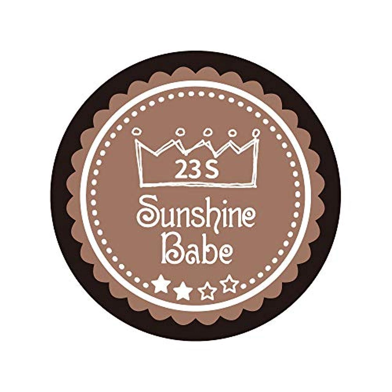 衣服落ちたストライプSunshine Babe カラージェル 23S パティキュリエール 2.7g UV/LED対応