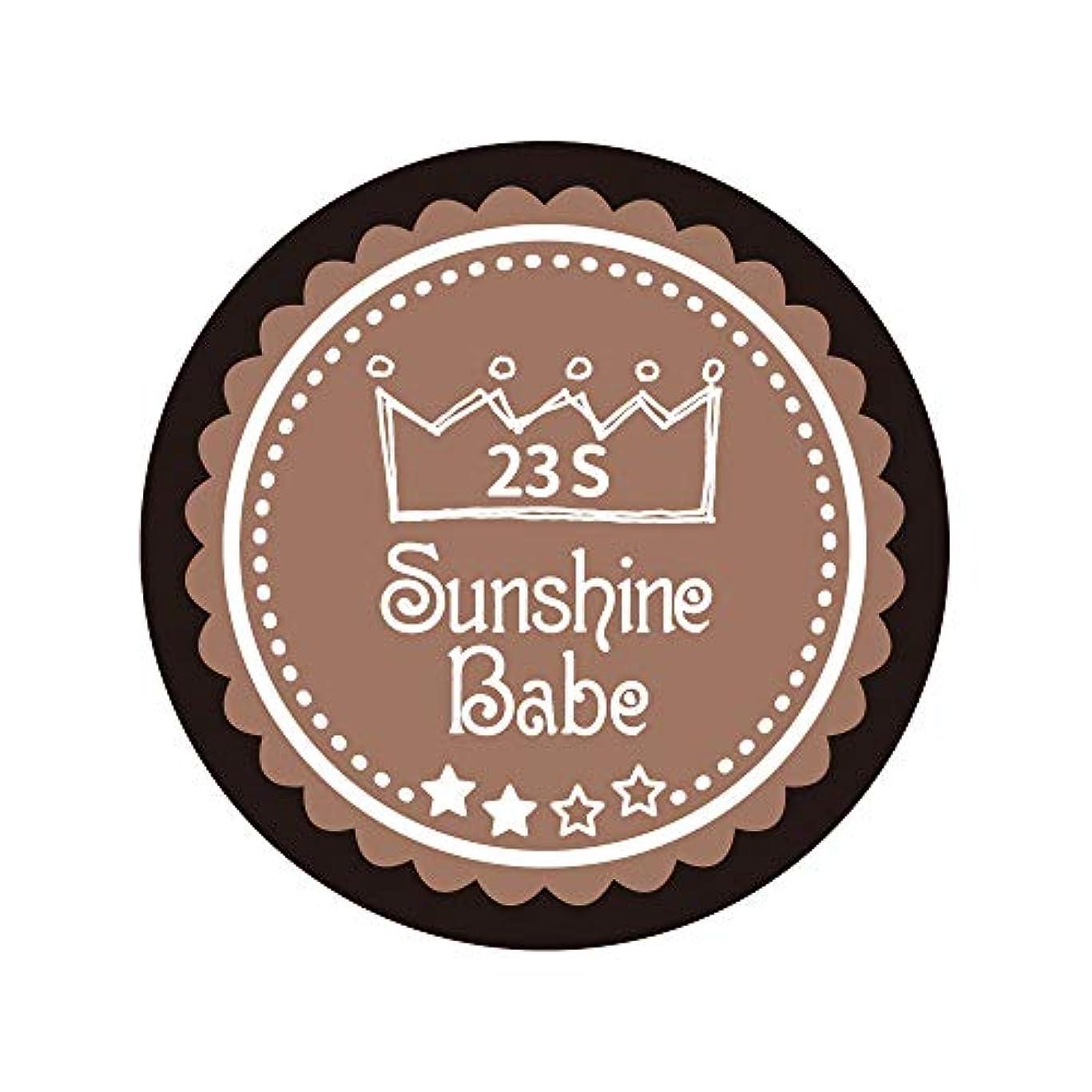 結晶時間厳守あらゆる種類のSunshine Babe カラージェル 23S パティキュリエール 2.7g UV/LED対応