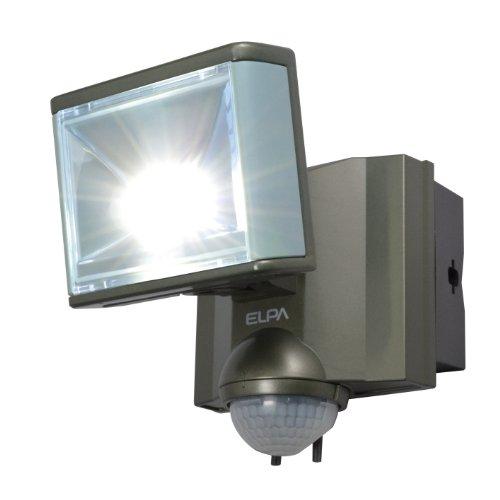 エルパ 屋外用センサーライト AC電源 8wLED 1灯 ESL-801AC(1台)
