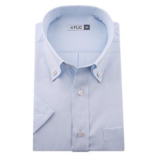 FLiC ワイシャツ 半袖 形態安定 メンズ ビジネス snb