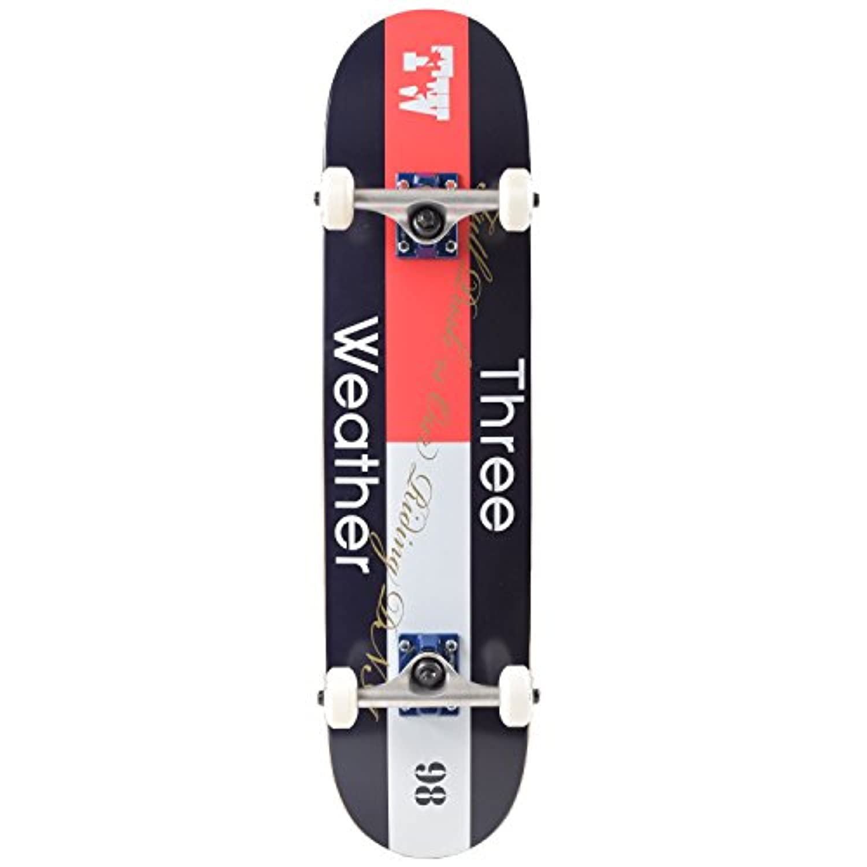 THREE WEATHER スリーウェザー スケートボード コンプリートセット SBMR2674
