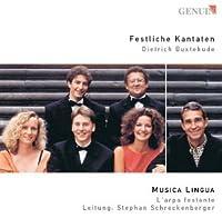 Festliche Kantaten by DIETRICH BUXTEHUDE (2002-01-01)