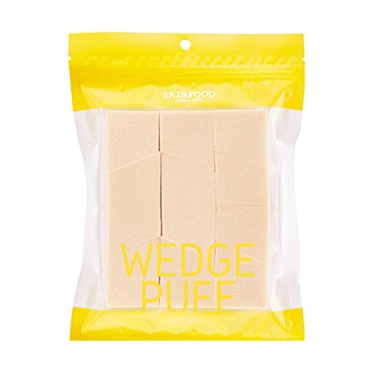 談話メッセージクレーター[2016 New] SKINFOOD Wedge Puff Sponge Jumbo Size (12pcs)/スキンフード ウェッジ パフ スポンジ ジャンボサイズ (12個入り)