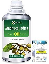 Madhuca Indica (Mahua) 100% Natural Pure Essential Oil 5000ml/169fl.oz.