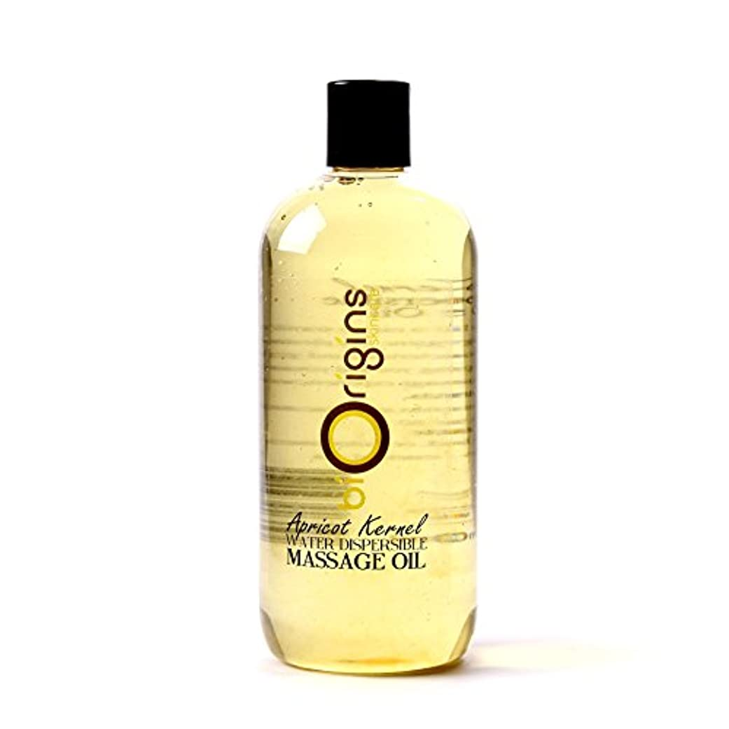 Apricot Kernel Water Dispersible Massage Oil - 1 Litre - 100% Pure