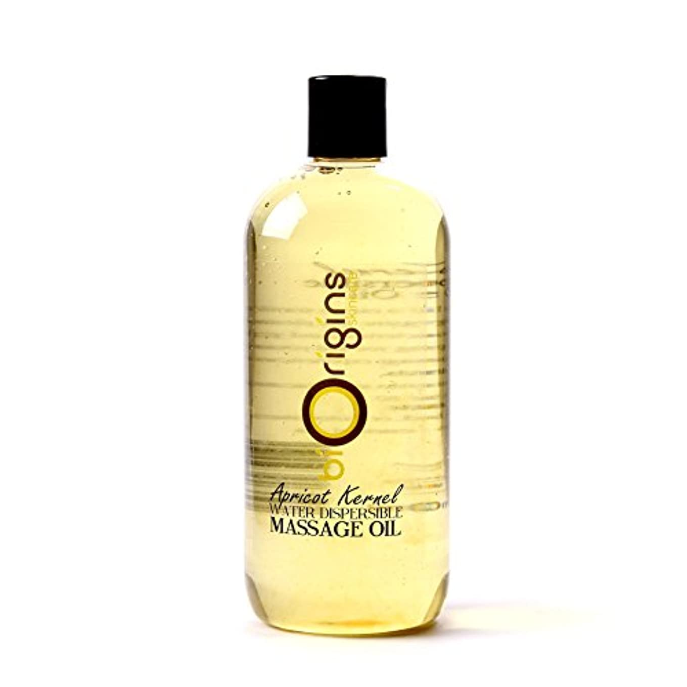 メモ水差し訴えるApricot Kernel Water Dispersible Massage Oil - 500ml - 100% Pure