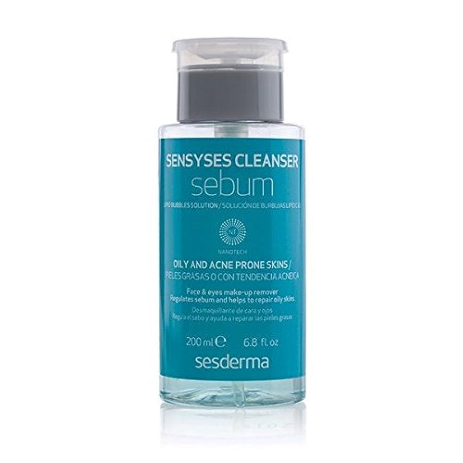 理容室糞開業医Sesderma Sensyses Cleanser Sebum Lipid Bubbles Solution 200ml [並行輸入品]