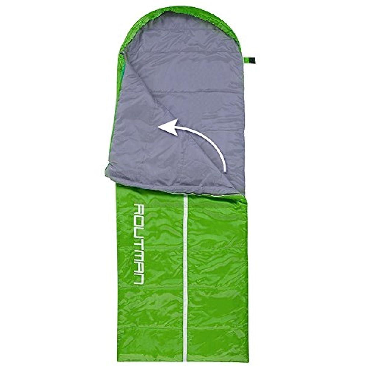 飲み込む珍しい振りかける寝袋 アウトドア キャンプ 春 夏 厚手 保温 コットン 超軽量 ポータブル 大人用 ダブル ラバー