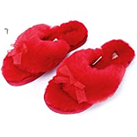4a9cb753301 L.A.M.B. Lamb Women s Natural Australian Sheepskin Flip Flops Slippers