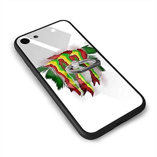 モンスターエナジーアートワーク IPhone8 ケース IPhone7 ケース 背面ガラス+TPUバンパー 超薄超軽量 おしゃれ 指紋防止 一体型 人気 耐衝撃 すり傷防止 超耐久 スマホケース