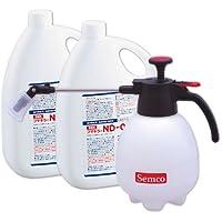 【セット】ダニ・ノミ駆除剤 フマキラーND-03 (2L×2本) 医薬部外品+小型噴霧器#530 (1台)