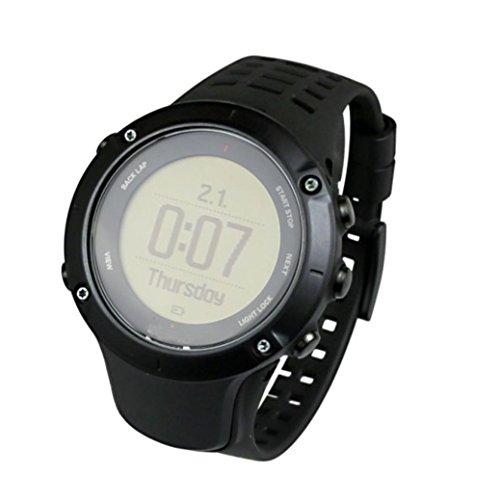 時計バンド TangQI 高品質 シリコン製 腕時計 ベルト 交換ベルト Suunto Ambit 3 Peak / Ambit 2交換バンド ビジネス 腕時計ストラップ  Suunto Ambit 3 Peak / Ambit 2時計対応