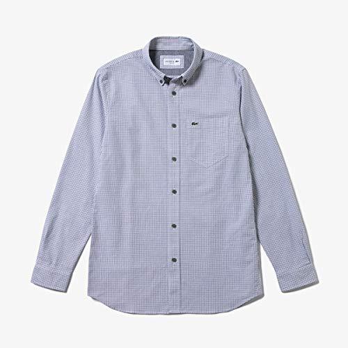 ラコステ『ストレッチオックスフォードボタンダウンシャツ』