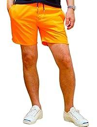 蛍光色 ショートパンツ ネオンカラー ハーフパンツ 3色タイプ通常版 リゾート