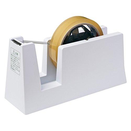 ニチバン テープカッター台 切り口まっすぐ直線美 for Business TC-CBE5 白