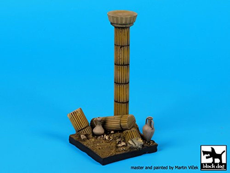ブラック犬1 : 35列セクションVignette – Resin Diorama Base 50 x 50 mm # d35065