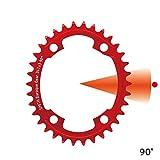 Baroque Gear 34T ±3 90° 4穴 赤