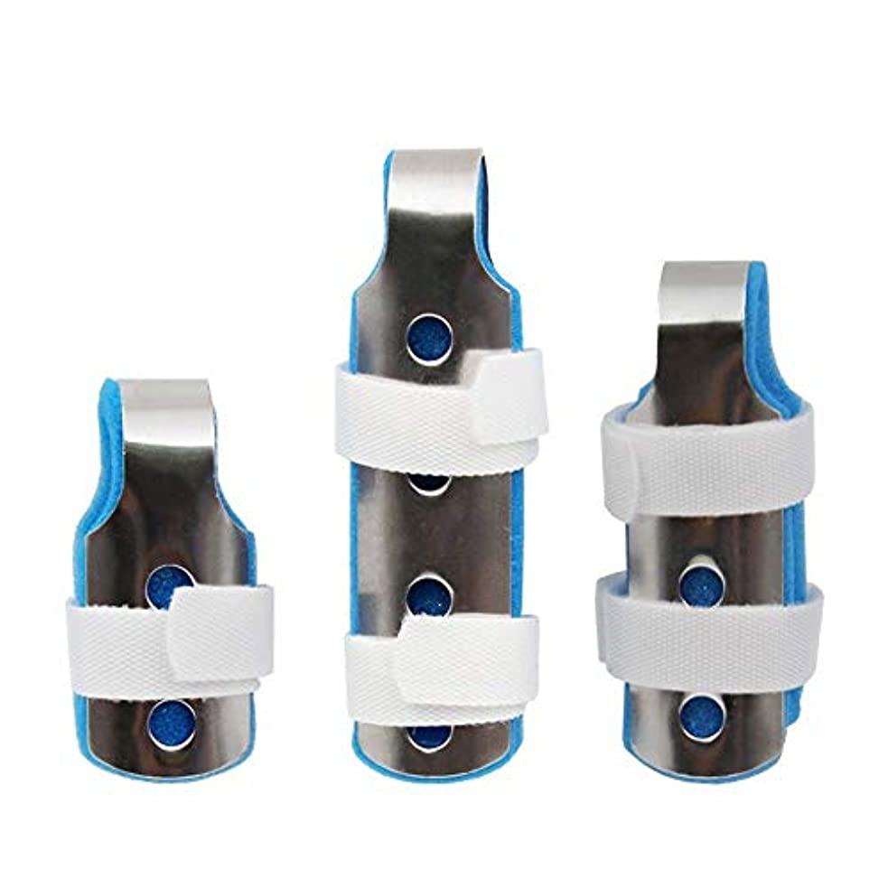 ポップ生手配する指の添え木、関節炎のためのサポートフィンガープロテクションストレートスリーピース