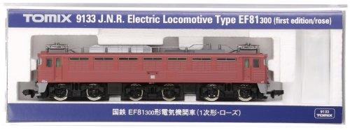 TOMIX Nゲージ 9133 EF81-300 (1次形・ローズ)