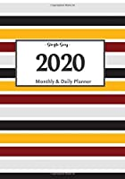 2020 Planner Daily and Monthly: On-The-Go Planner | Jan 1, 2020 to Dec 31, 2020: Daily & Monthly Planner + Calendar Views | Productivity Planner