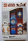 [レゴ ウォッチ] LEGO WATCH 腕時計 スターウォーズ BB-8 こども用 8020929 [並行輸入品]