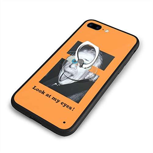 Gyllenhaa 7plus 8plus IPhoneX Xs XR IPhoneXS Max ケース アルベルト アインシュタイン Albert Einstein スポンジ・ボブ SpongeBob ソフトケース カバー いたずら パロディー 個性 創意 アイフォン アップル TPU 弾性 軽量 耐衝撃 衝撃吸収 全面保護 擦り傷防止 IPhone8Plus ケース IPhone7Plusケース 薄型 PC 指紋防止 擦り傷防止 耐衝撃カバー