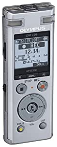 OLYMPUS ICレコーダー VoiceTrek 4GB MicroSD対応 DM-720 シルバー DM-720 SLV
