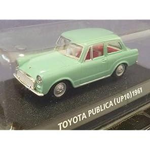 コナミ 1/64 絶版名車コレクション Vol,5 トヨタ パブリカ 型式UP10 1961 ライトグリーン