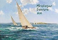 カレンダー 2020 [12 pages 20x30cm] Yacht and Sailships Vintage レトロ美術館の絵画 by Montague Dawson